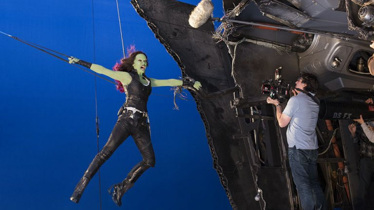 GuardiansoftheGalaxy2 , SpiderMan secrets revealed by Marvel VFX teams