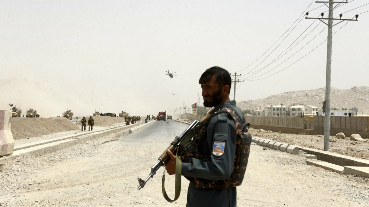 Bomber disguised himself as a woman to attack NATO troops: Afghan official