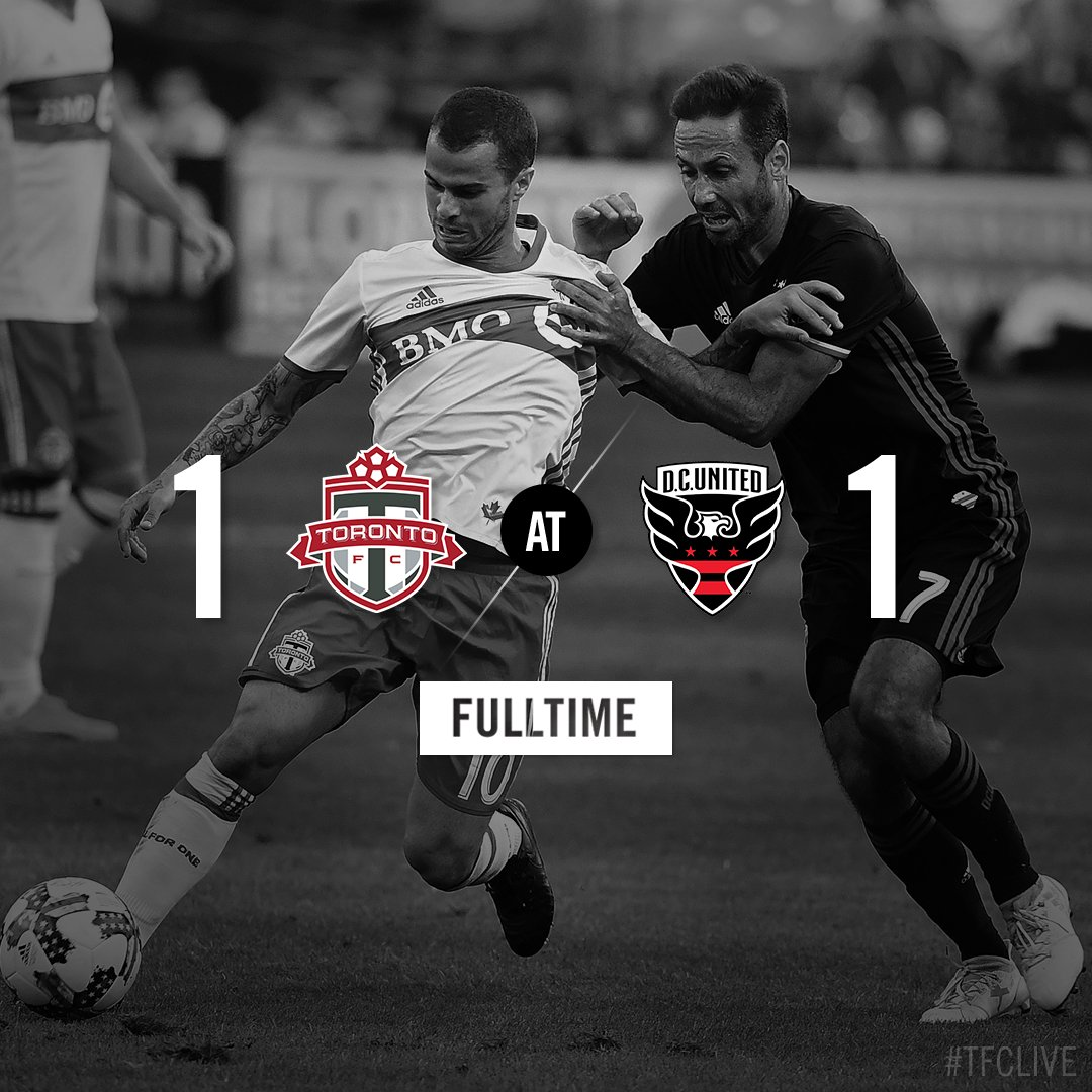 RT @torontofc: FT: The Reds come from behind to pick up a point on the road  #TFCLive | #DCvTOR https://t.co/O5hQt2RewL