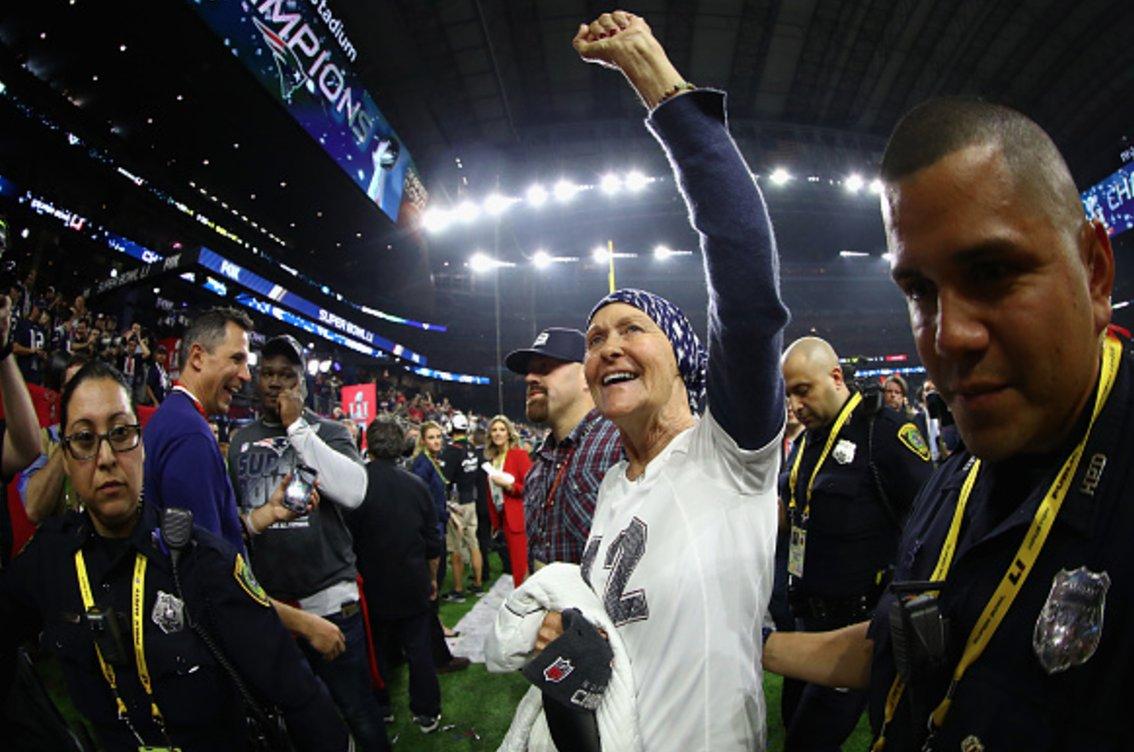 Tom Brady's Mom, Galynn, Receives Super Bowl 51 Ring from Patriots' Robert Kraft