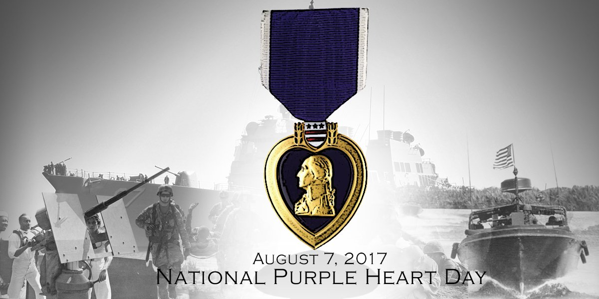 RT @USNavy: We honor the sacrifices of our Purple Heart recipients! #MondayMotivation https://t.co/MKvMw0zCG0