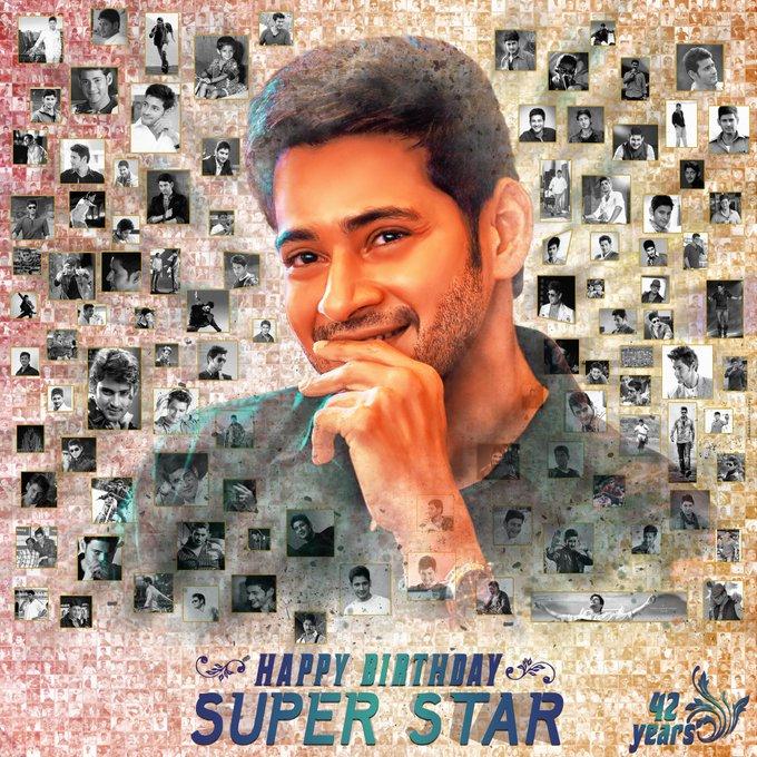Happy Birthday Super star Mahesh babu :) <3  HD Link :  ©