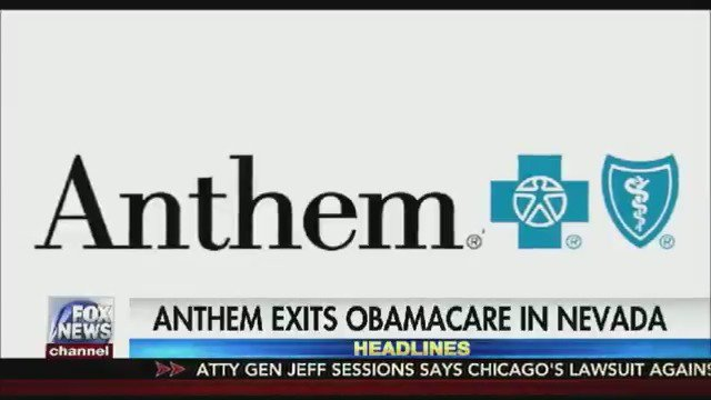 Anthem announces it will withdraw from ObamaCare Exchange in Nevada https://t.co/d0CxeHQKwz
