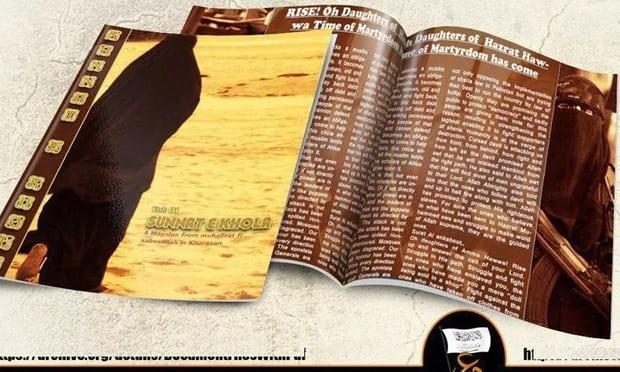 The Pakistani Taliban has released a women's magazine