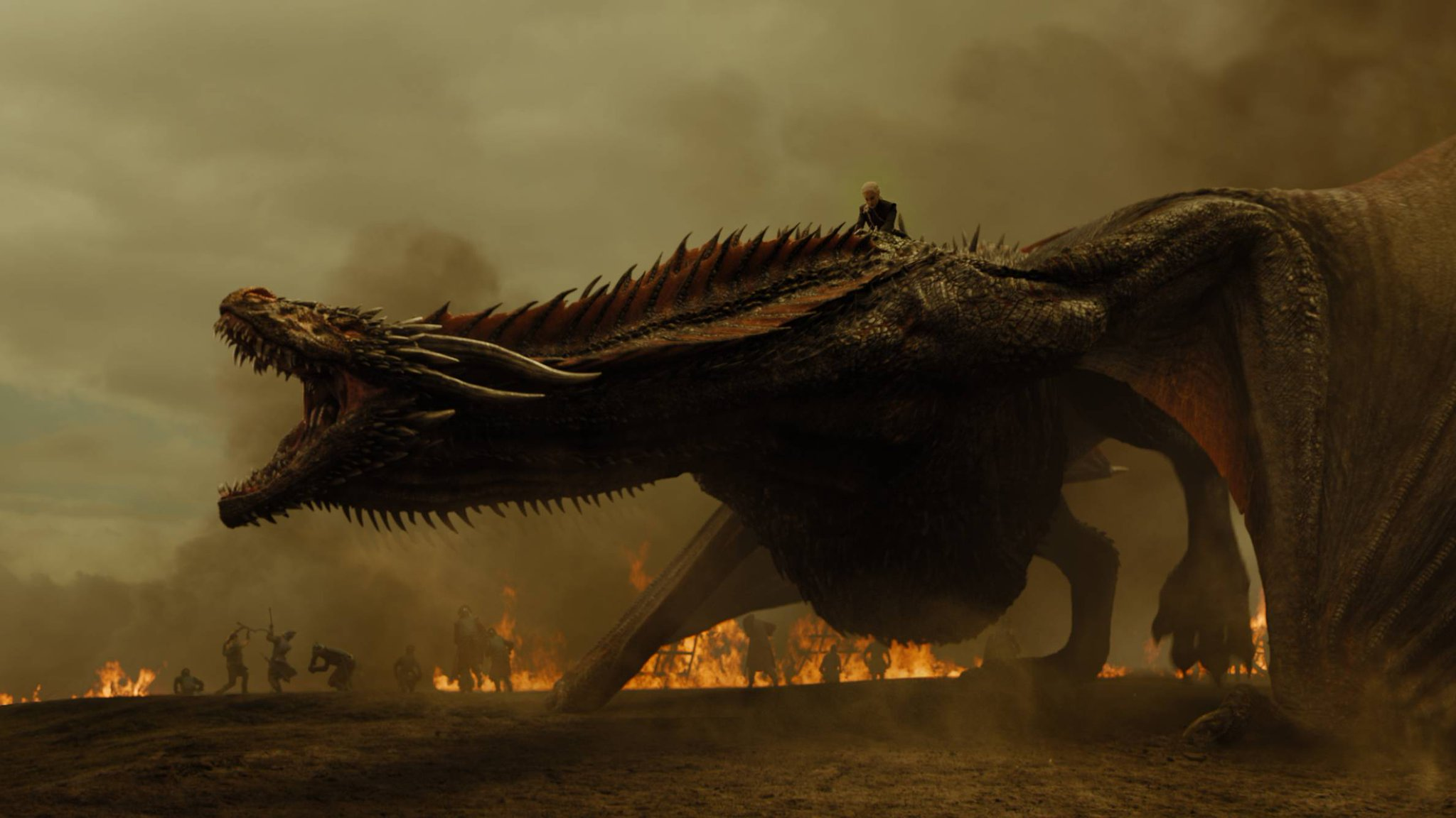 Here's how #GameOfThrones pulled off its massive dragon attack: https://t.co/ddLJ2sGVFh https://t.co/XTHgnJEGln