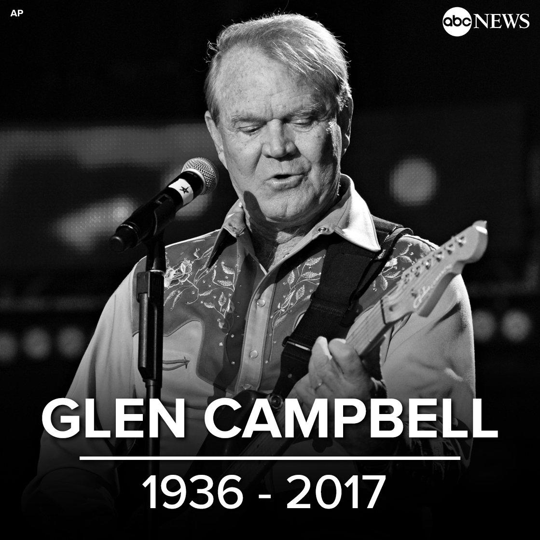 Rest in peace, @GlenCampbell.   https://t.co/4DzoJM5C0c https://t.co/ovYSxAxfJR
