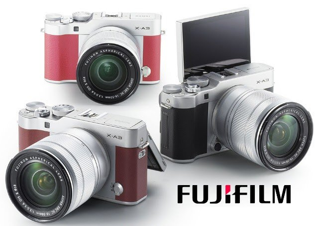 #WIN a Fujifilm X-A3 Camera [8/24]