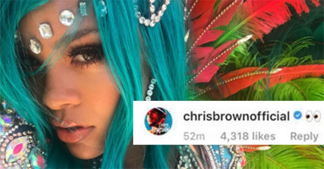 Rihanna's fans are FURIOUS with ex Chris Brown after spotting something odd on Instagram...