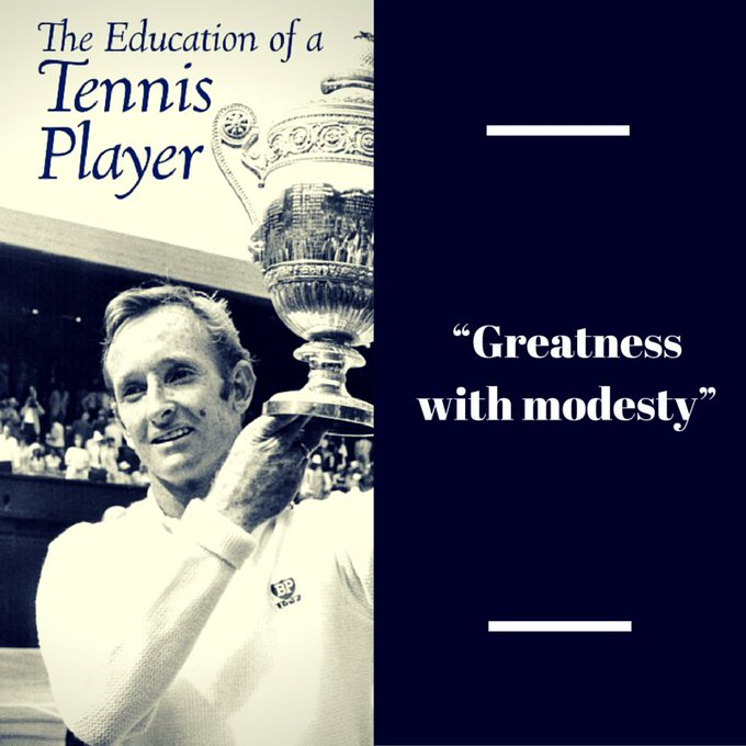 Happy Birthday today to Rod Laver!