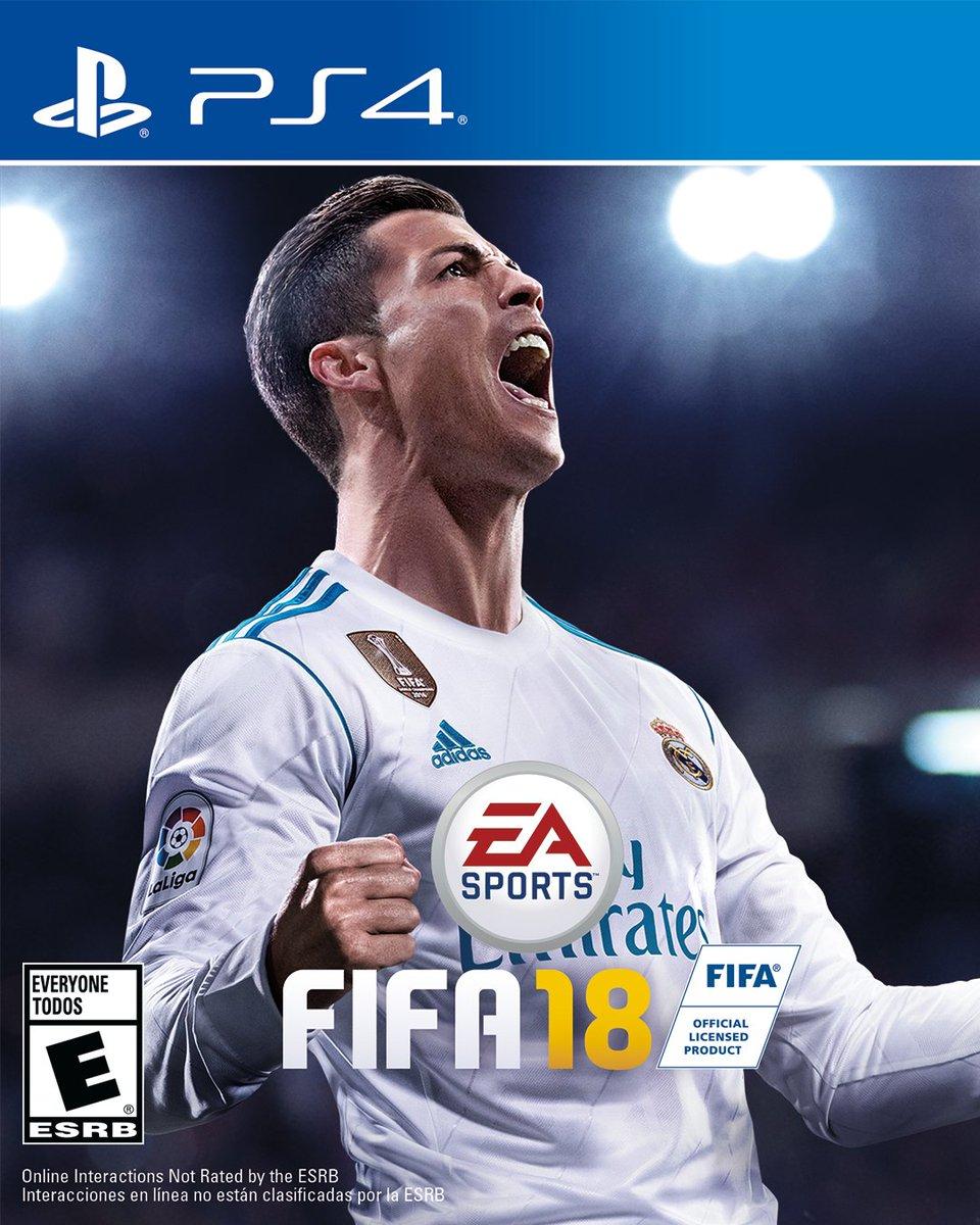 RT @brfootball: The official #FIFA18 cover! 🙌 (📸 via @EASPORTSFIFA) https://t.co/mhzteYqZE5
