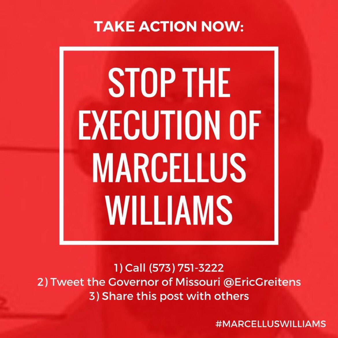RT @UncleRUSH: Stop the execution of Marcellus Williams! https://t.co/nsLCVSNKHj