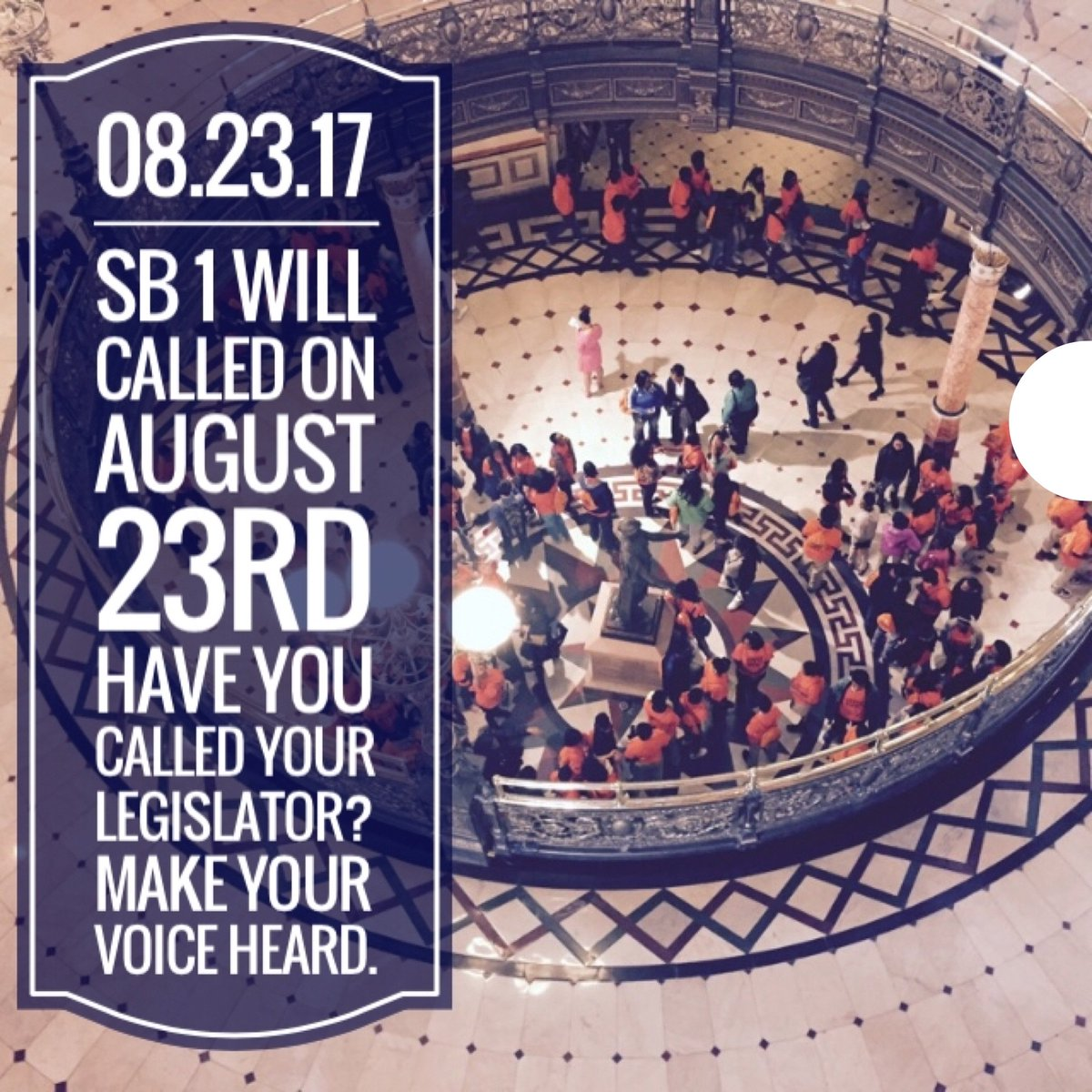 test Twitter Media - Call your legislator and make your voice heard! #fixtheformula #sb1 https://t.co/pV8hSCWbIT