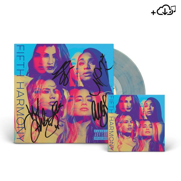 They're back!! Get a SIGNED #FifthHarmony vinyl in our store while they last: https://t.co/8F6XunxcLW https://t.co/bRF3WlaNlh