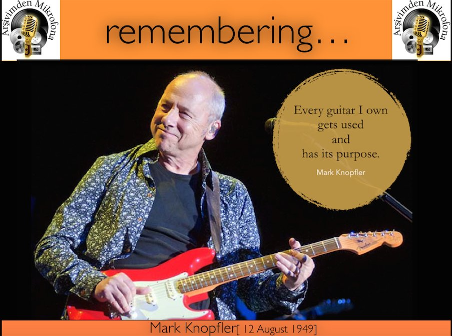 Happy birthday to Mark Knopfler Born on this day in 1949