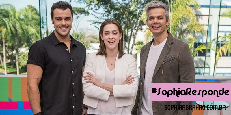 Vídeo Show – #SophiaResponde https://t.co/Zz88sCnUGw https://t.co/rnklDlJcpN
