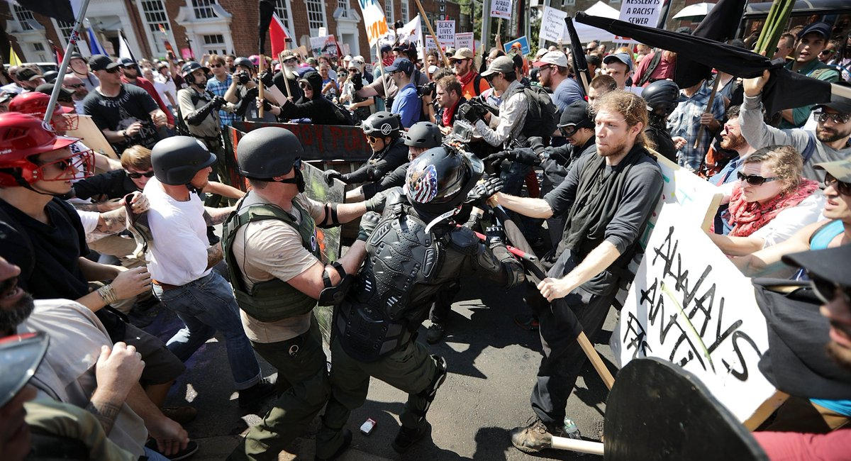 UPDATE Officials White nationalist rally in #Charlottesville linked to 3 deaths