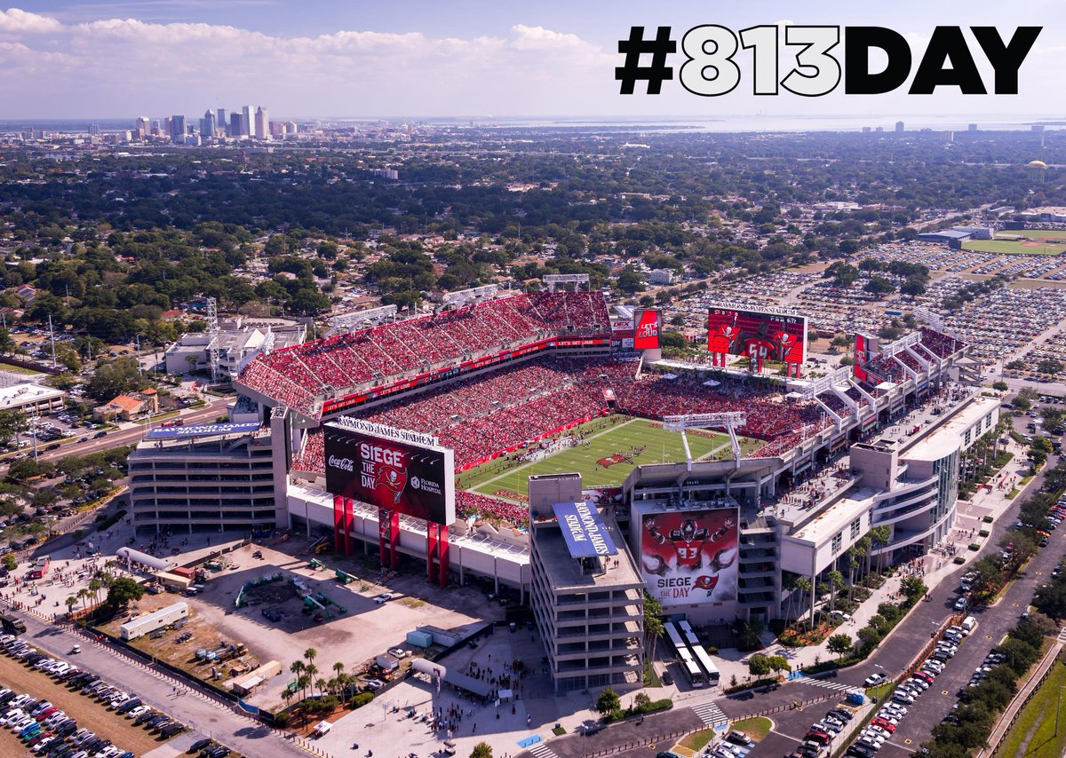 RT @TBBuccaneers: There's no place like home! Happy #813Day, Tampa Bay! https://t.co/rwQUD12KqP
