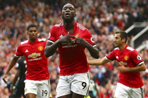 Lukaku scores 2, Man United beats West Ham 4-0 in EPL
