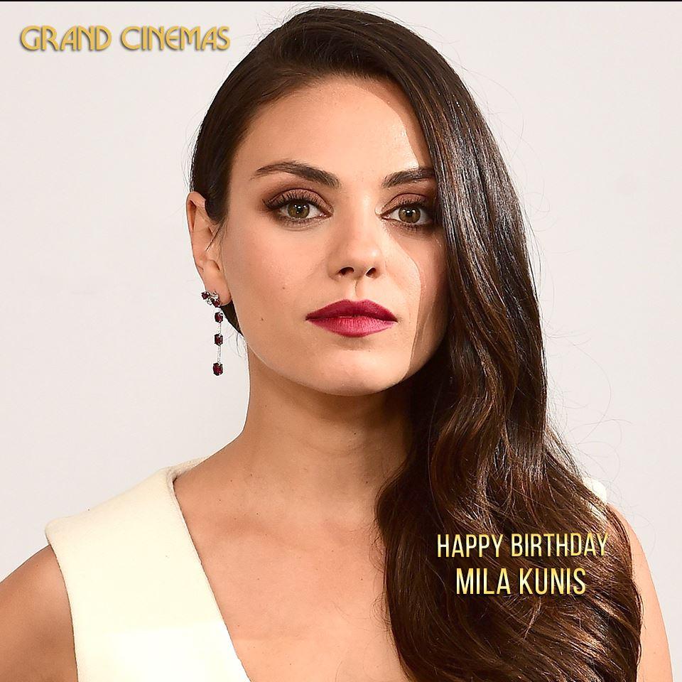 A very happy birthday, Mila Kunis!