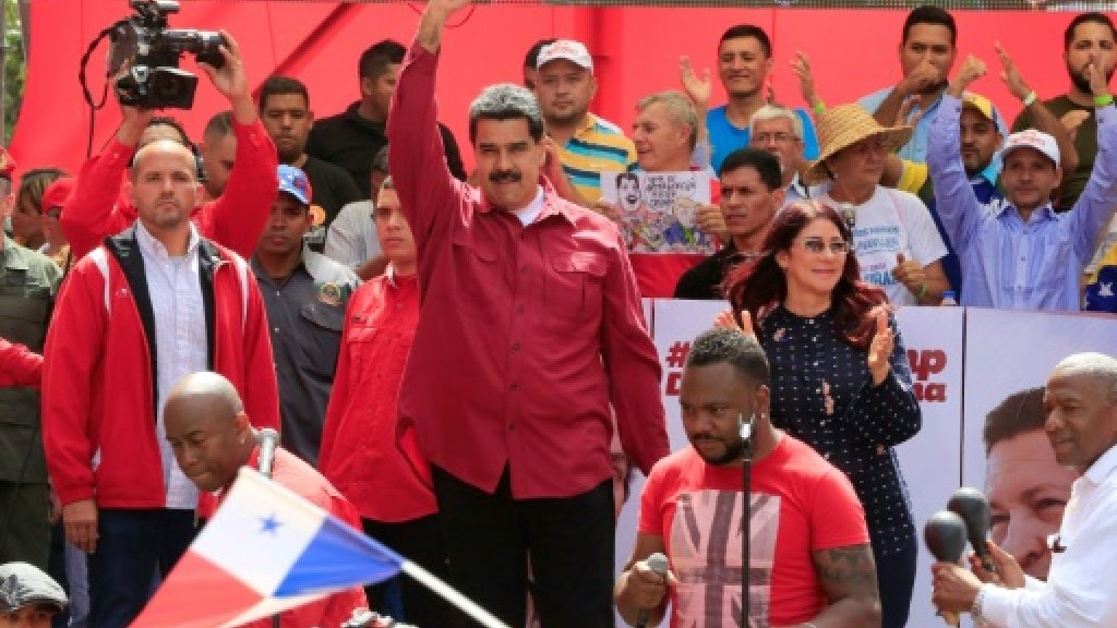 Maduro orders Venezuela military drill after Trump threat