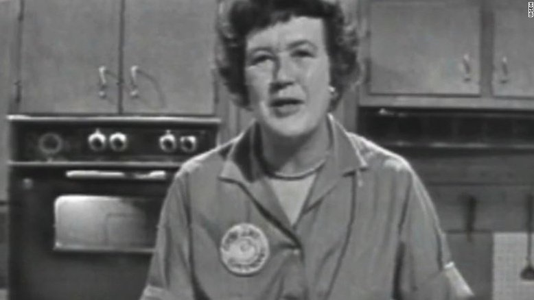 On her 105th birthday, Julia Child is still hot in the kitchen