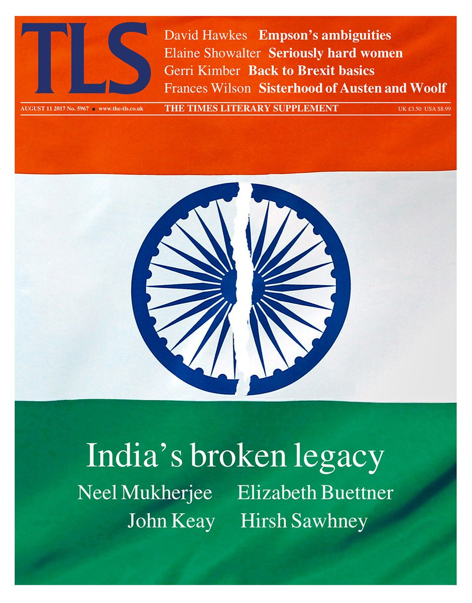 test Twitter Media - Prof Hirsh Sawhney's essay on literature of #India's Partition made @TheTLS cover story: https://t.co/aHJ7w1jIEC #IndependenceDayIndia 🇮🇳 https://t.co/mvODihuf0y