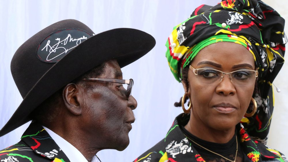 Grace Mugabe back in Zimbabwe after accusations of assaulting a model in South Africa