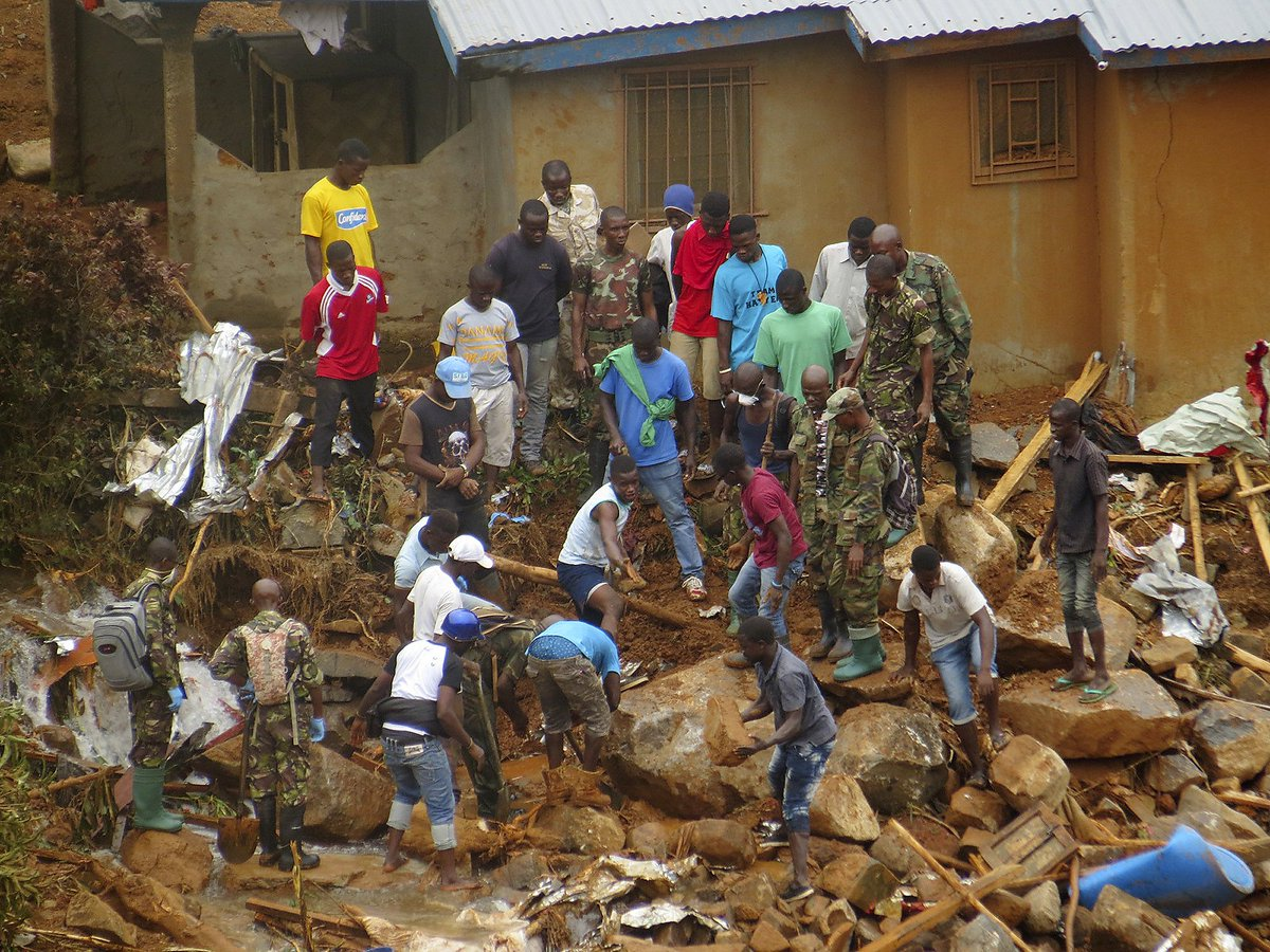 Hundreds of people are dead after the Sierra Leone landslide. Here's how it happened.