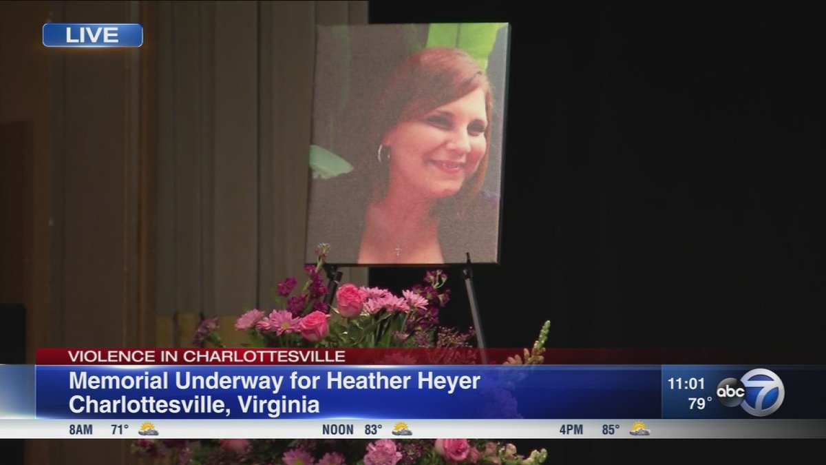 Mourners remember woman killed at Virginia rally, local politicians react to violence