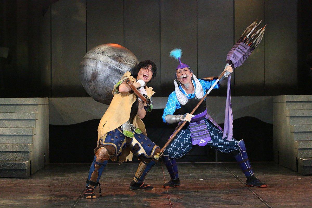 斬劇『戦国BASARA』小田原征伐、本日は14時と19時開演の2回公演です!昼の回は官兵衛・北条・風魔によるアフタートー