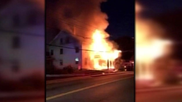Woman Suffers Burns After House Fire In Methuen