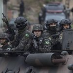 Brazil police, troops carry out security operation near Rio deJanerio
