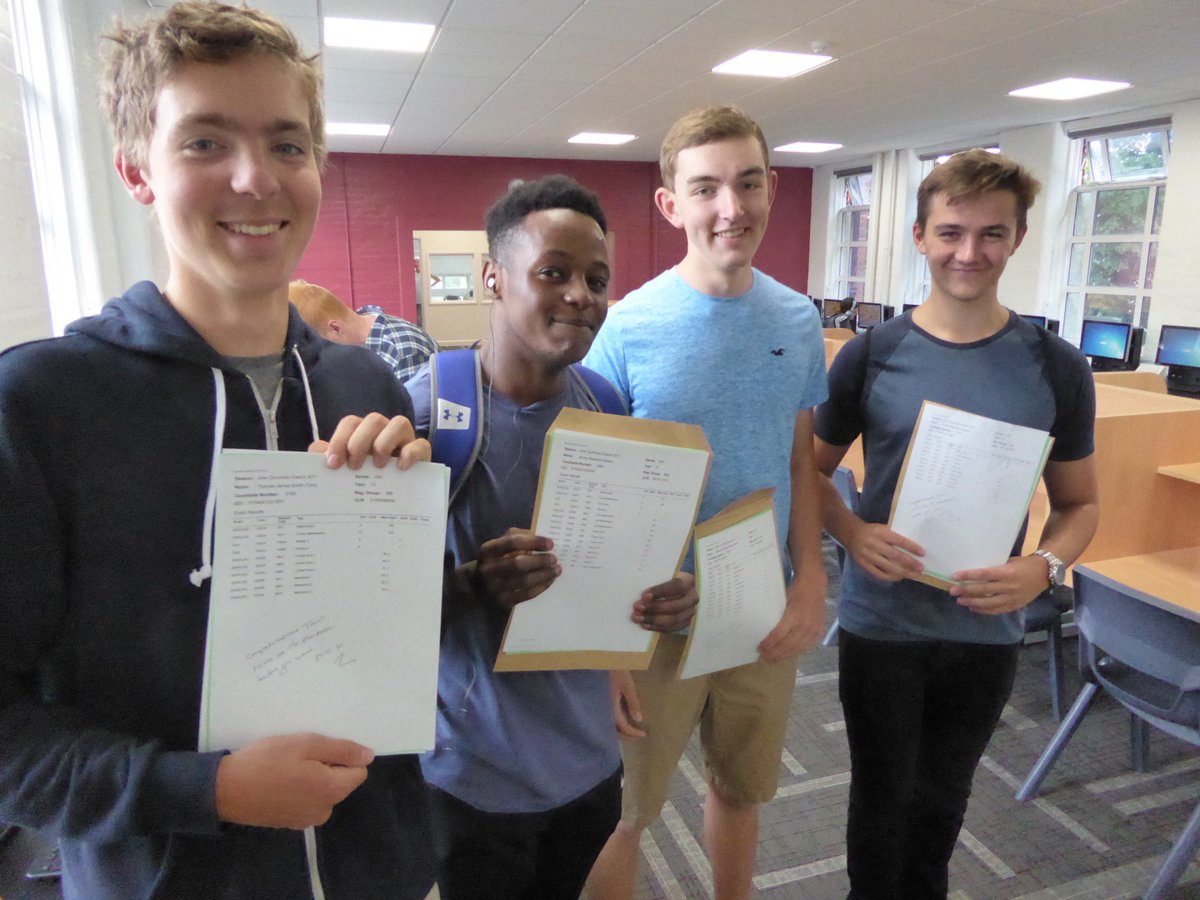 test Twitter Media - Celebrating great A level results at #TWBS today. Nearly a third of grades were A or A* and 61% grade B or above. Well done to all students. https://t.co/JIdyporwRM