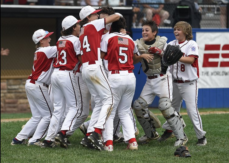 Fairfield Little League Stars In Action Today; Game 1 Vs. New Jersey At 3 p. m