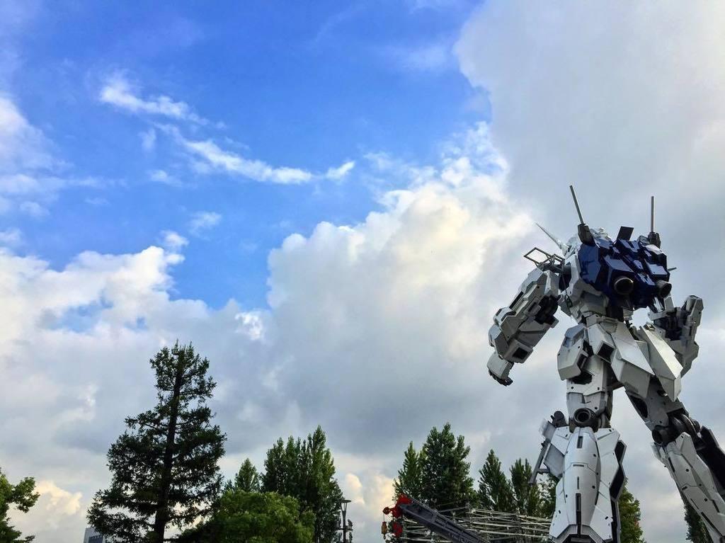 飛べガンダムユニコーン! #gundam #ガンダムベース東京 #実物大ガンダムユニコーン