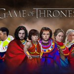 PHOTOS – Game of Thrones Characters Dressed in Maasai Regalia