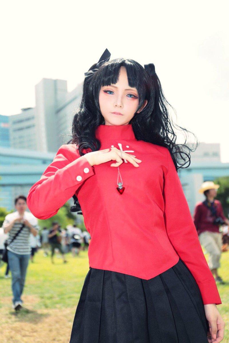 夏コミ 3日目Fate/stay night 遠坂 凛photo:1.2枚目紫苑さん3枚目しろねこさん