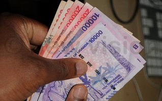 Ugandan Shilling stable, propped by coffee exports