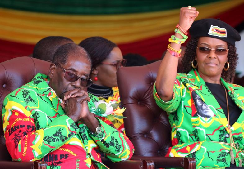 Grace Mugabe returns home pursued by South Africa assault allegation