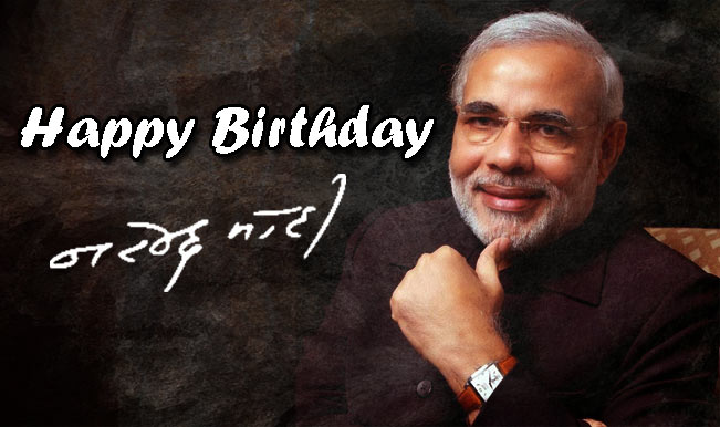 HAPPY BIRTHDAY NARENDRA MODI