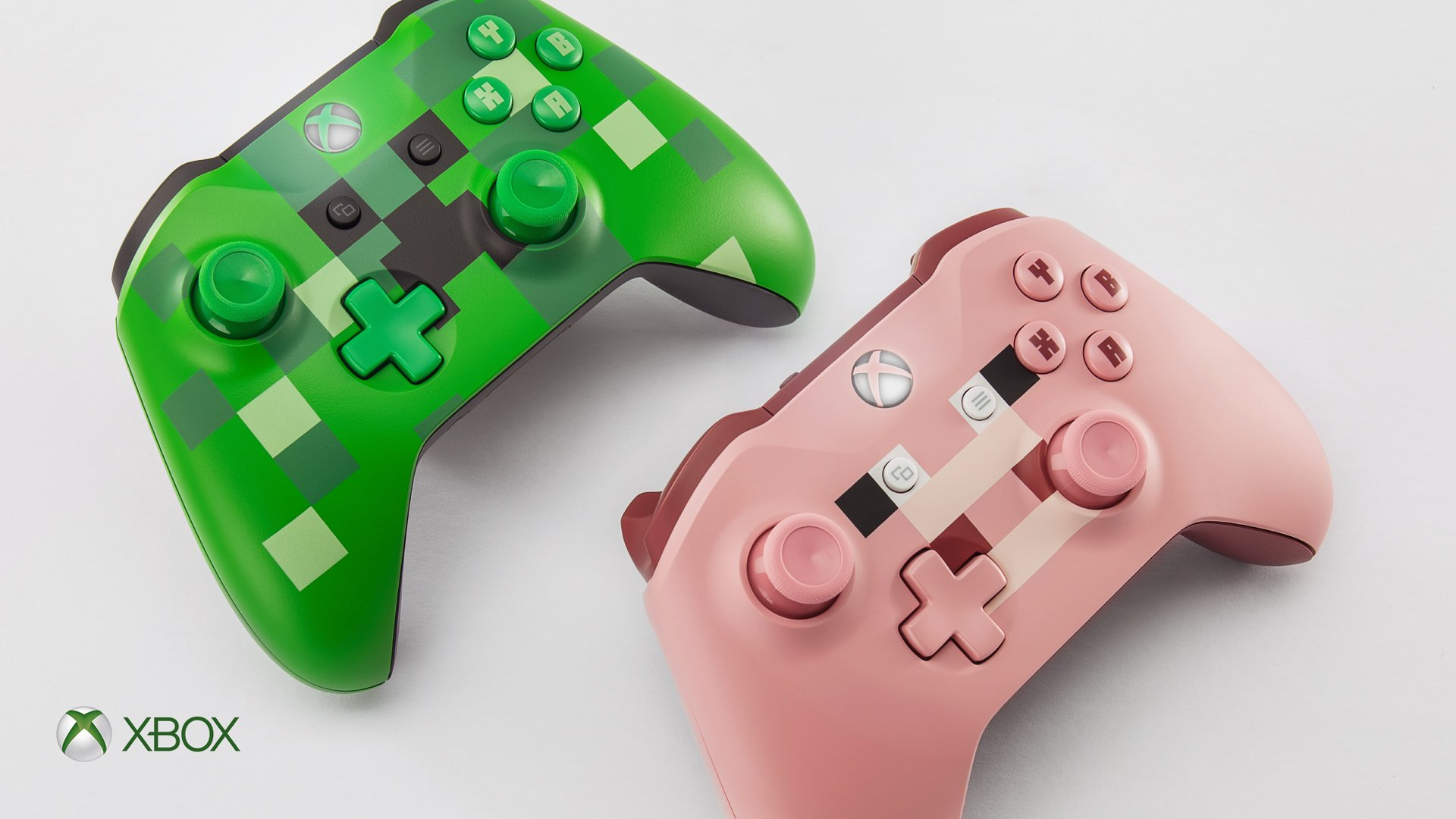 Essential tools for the serious crafter. Pre-order your #Minecraft [E10+] controllers now: https://t.co/fmHje2x9s6 https://t.co/kFpiSbZgOl