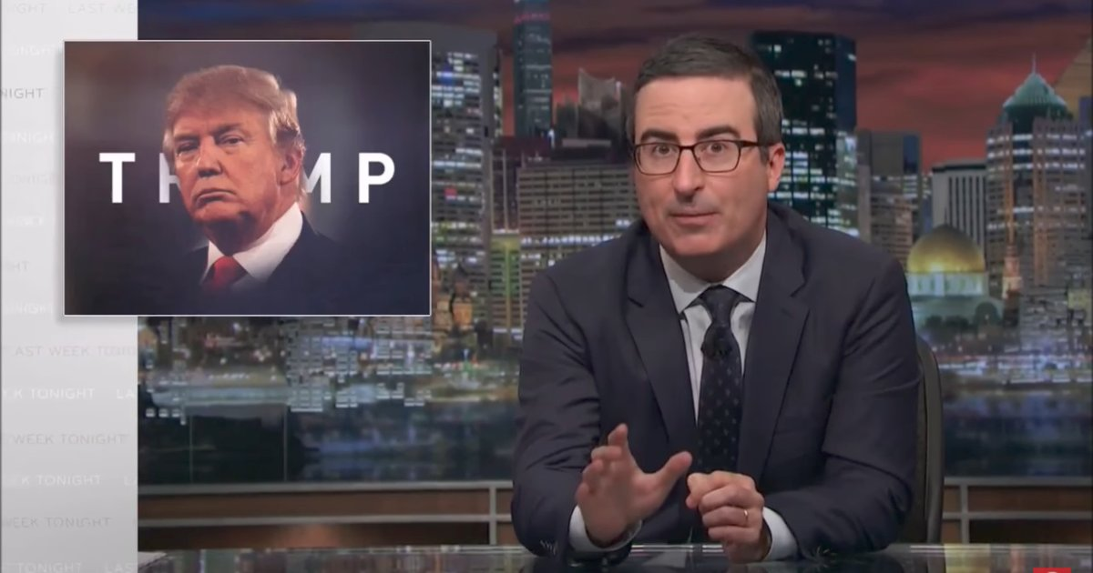 See John Oliver blast GOP lawmakers for failing to criticize Trump on #LastWeekTonight https://t.co/rOlj2A2IKJ https://t.co/6zFsa8Wr96