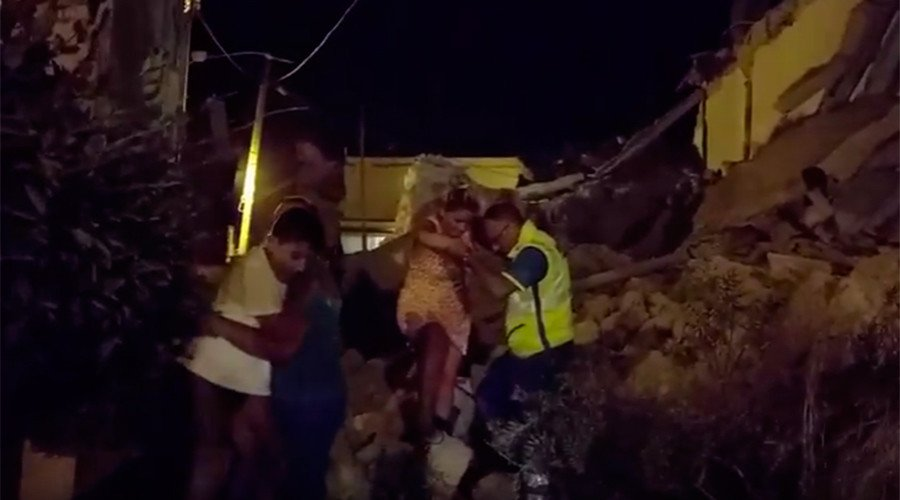 Naples quake Several injured, some missing, inhabited building & church destroyed - report