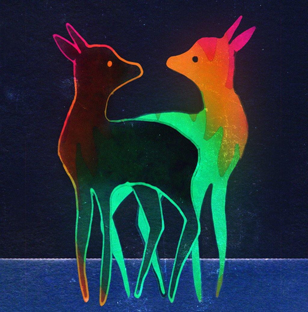 Deer x 2  https://t.co/PWdn79a15o https://t.co/8olhm7F781