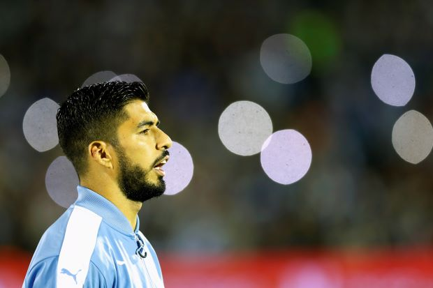 Soccer - Suarez not fully fit but may still face Paraguay in qualifier