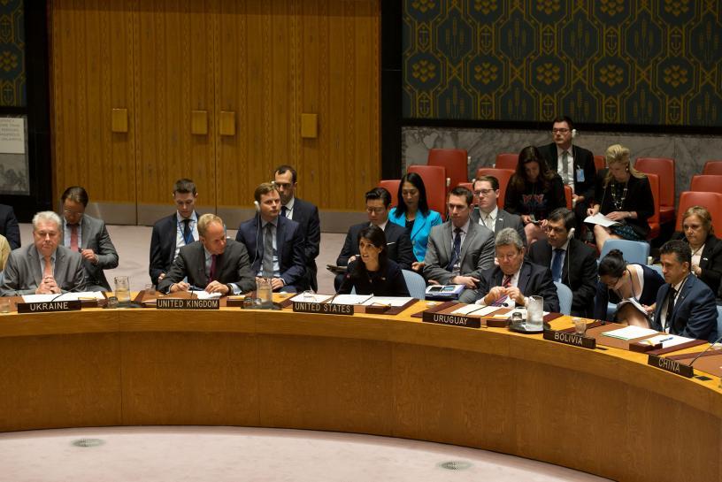 U.S. wants U.N. vote on new North Korea sanctions next Monday
