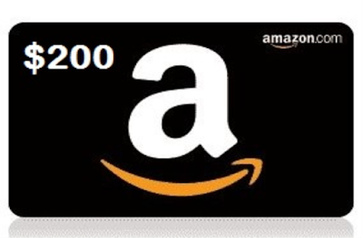 Giveaway — Enter to Win a $200 Amazon Gift Card