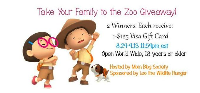 Take Your Family to the Zoo #Giveaway