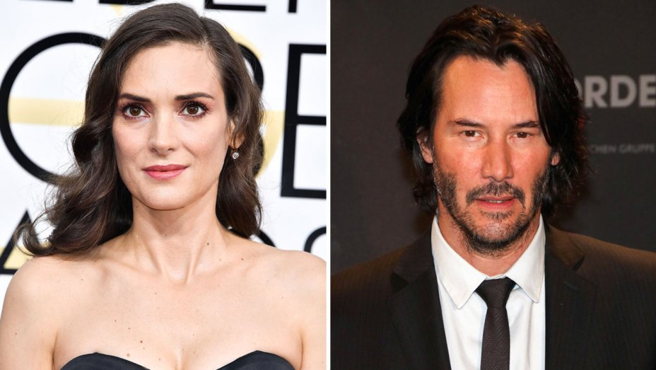 Winona Ryder, Keanu Reeves team up for 'Destination Wedding'