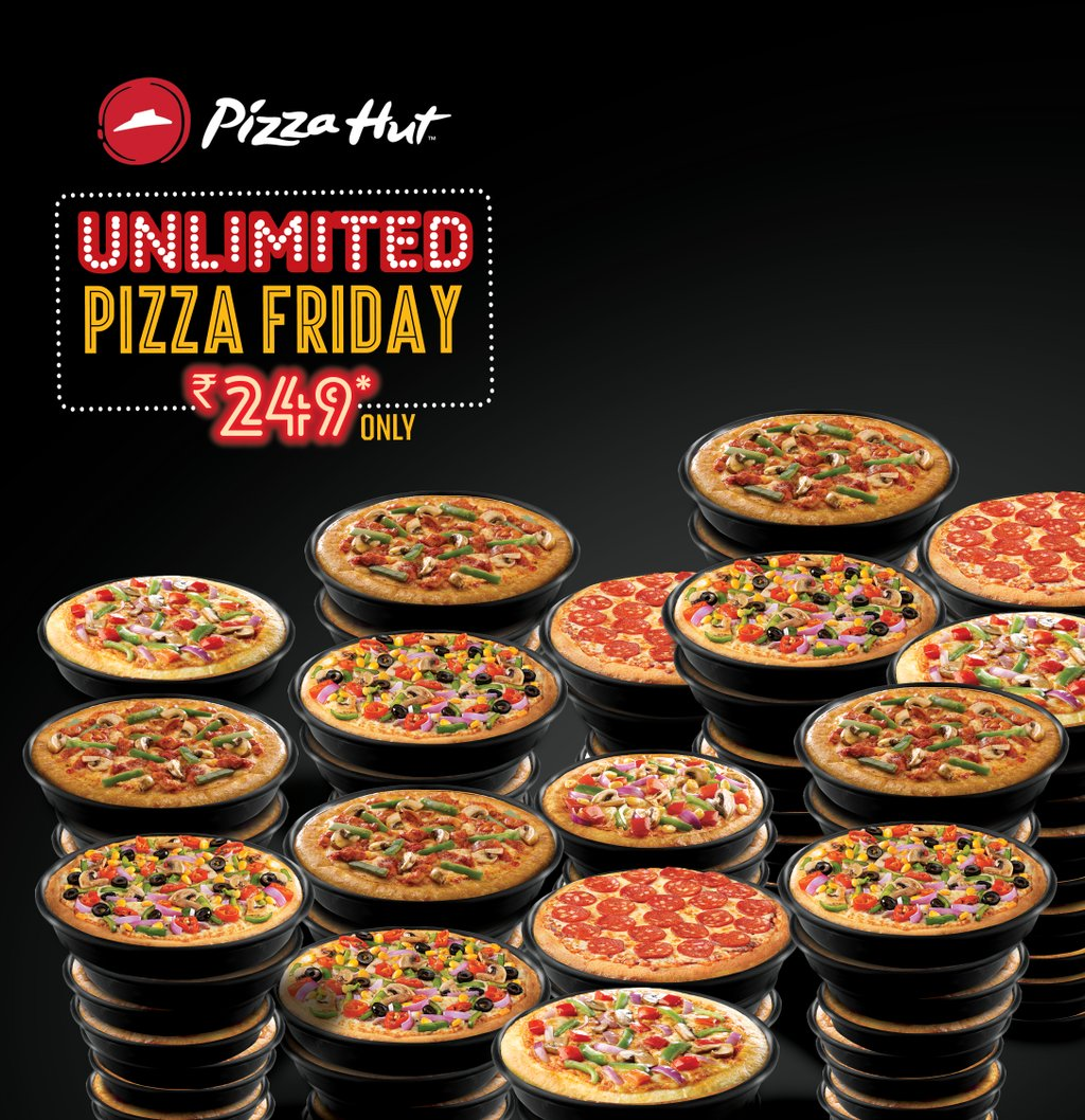 UnlimitedPizzaFriday is the gift that keeps on giving, making that FridayFeeling greater than ever before https t